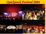 quickstock festival 200411
