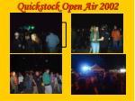 quickstock open air 20027