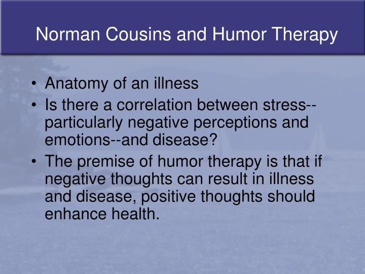 PPT - Humor Therapy (Comic Relief) PowerPoint Presentation - ID:680768