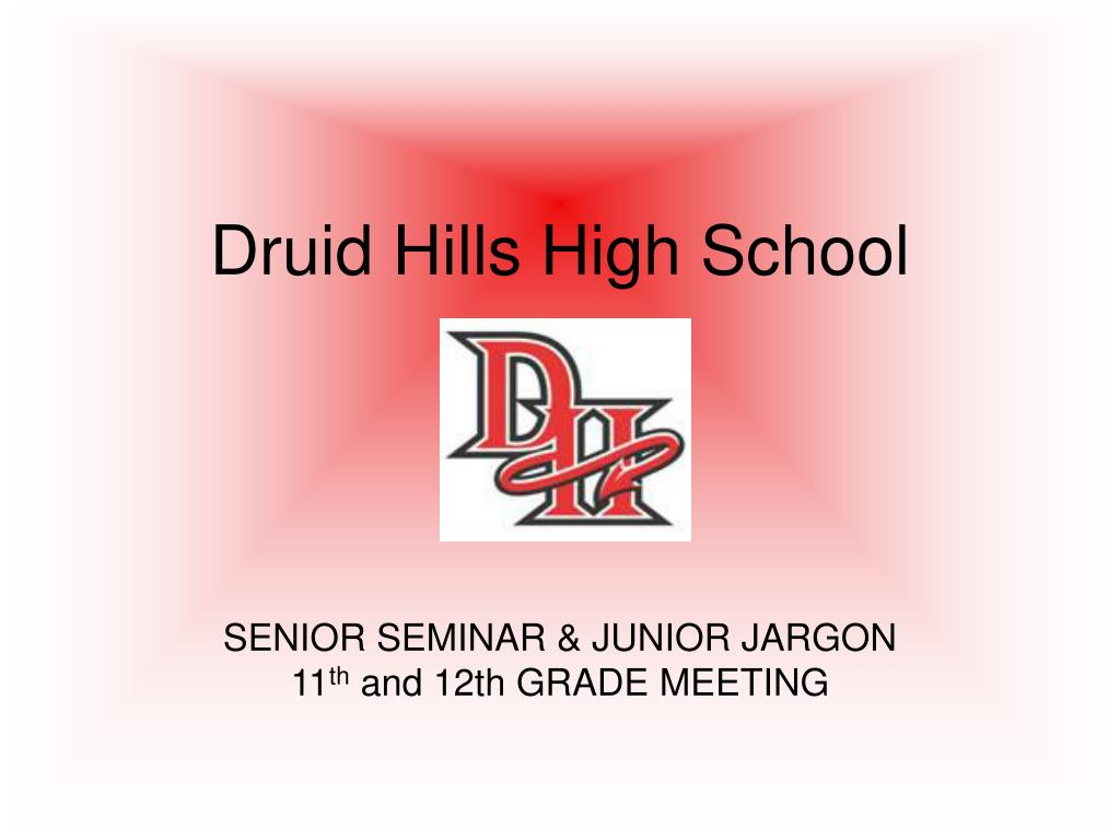druid hills high school l.