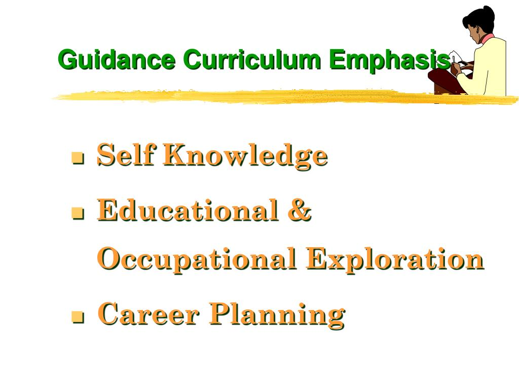 Guidance Curriculum Emphasis