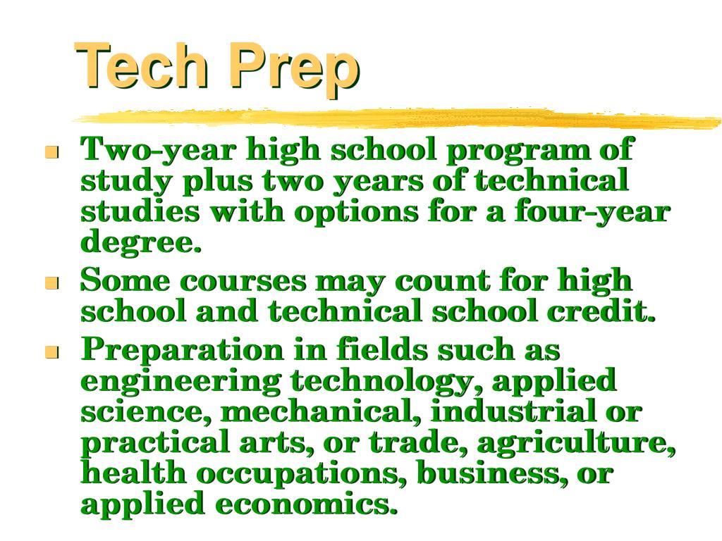 Tech Prep