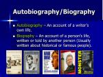 autobiography biography