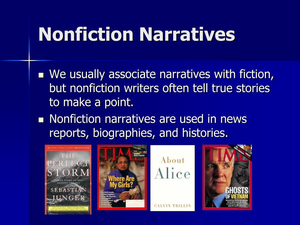 Nonfiction Narratives