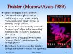 twistor morrow avon 1989
