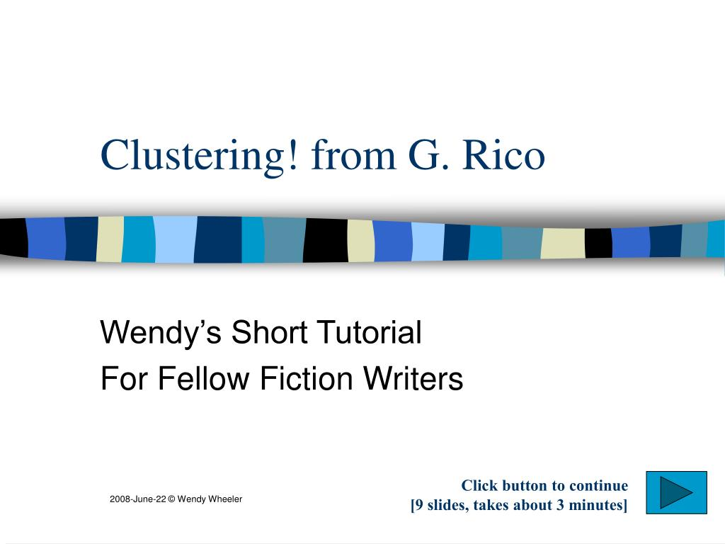 clustering from g rico l.