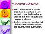 the quest narrative