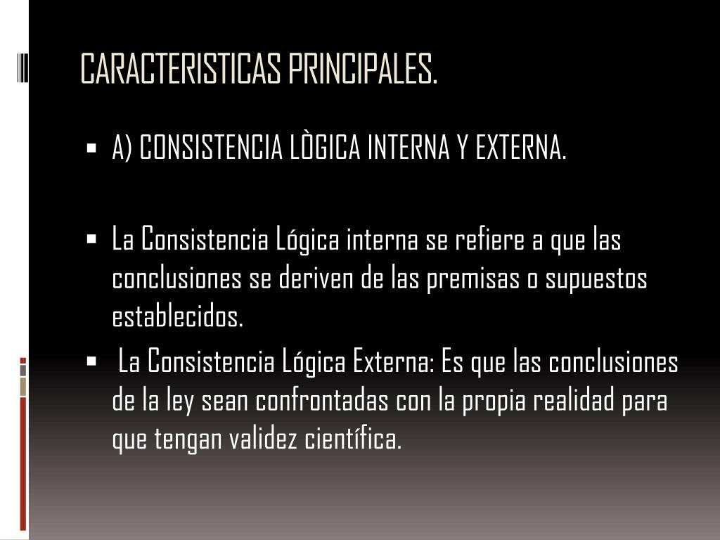 CARACTERISTICAS PRINCIPALES.