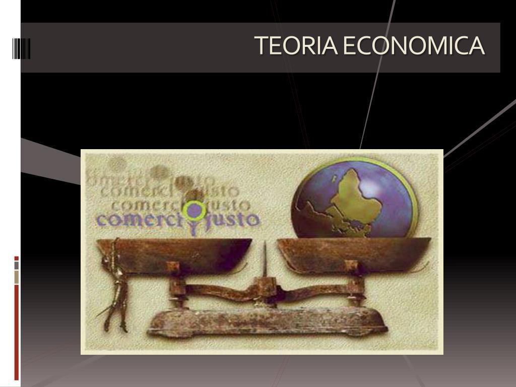 TEORIA ECONOMICA