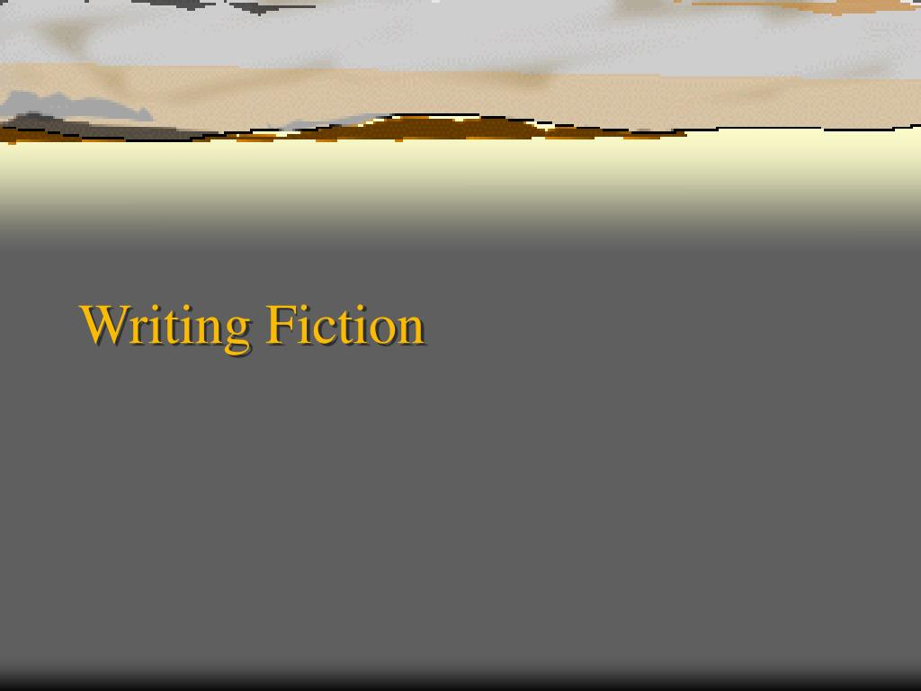 writing fiction l.