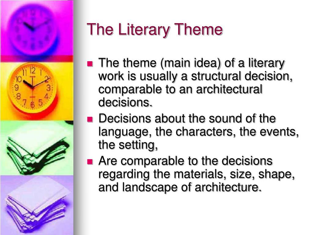 The Literary Theme