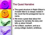 the quest narrative18