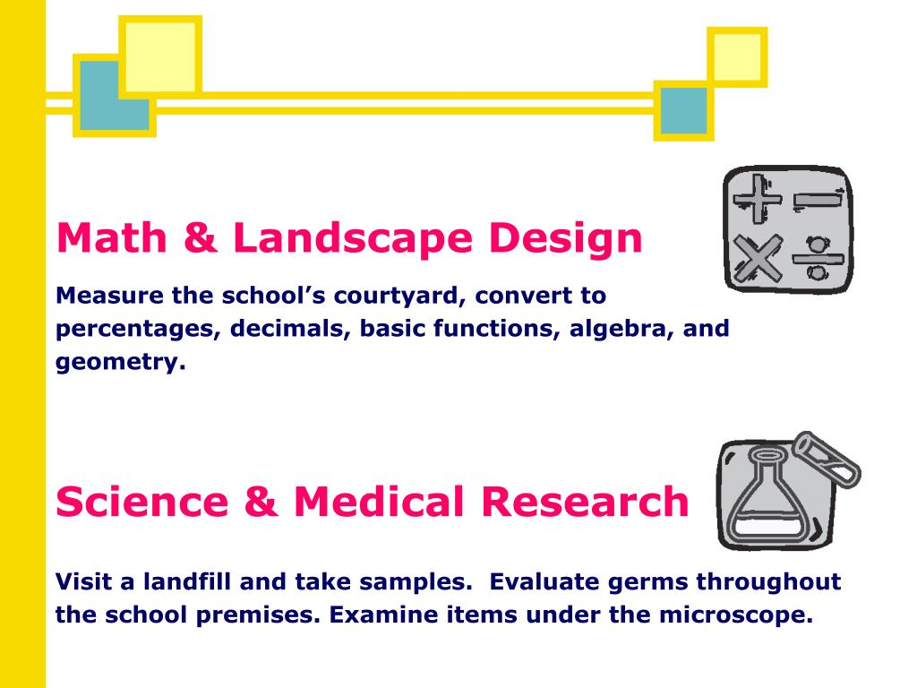 Math & Landscape Design