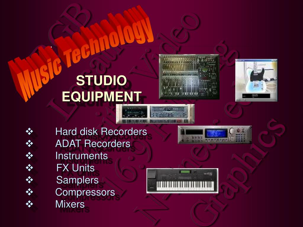 Hard disk Recorders