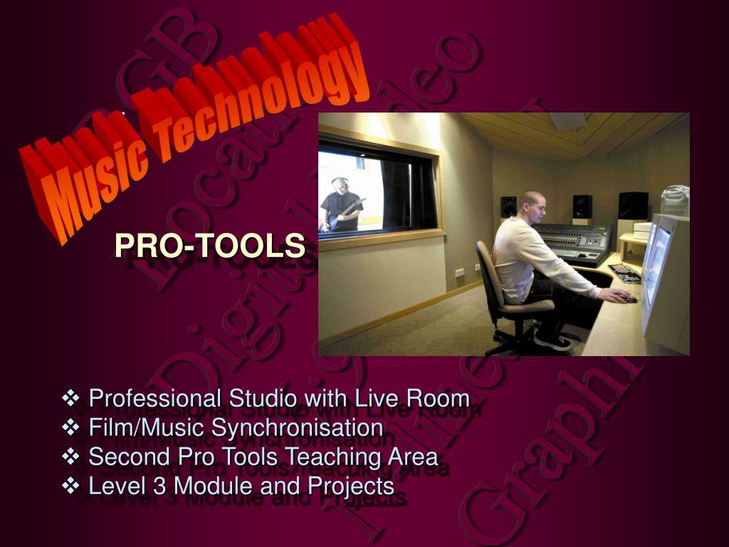 Professional Studio with Live Room