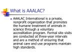 what is aaalac