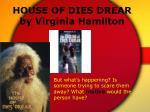 house of dies drear by virginia hamilton59