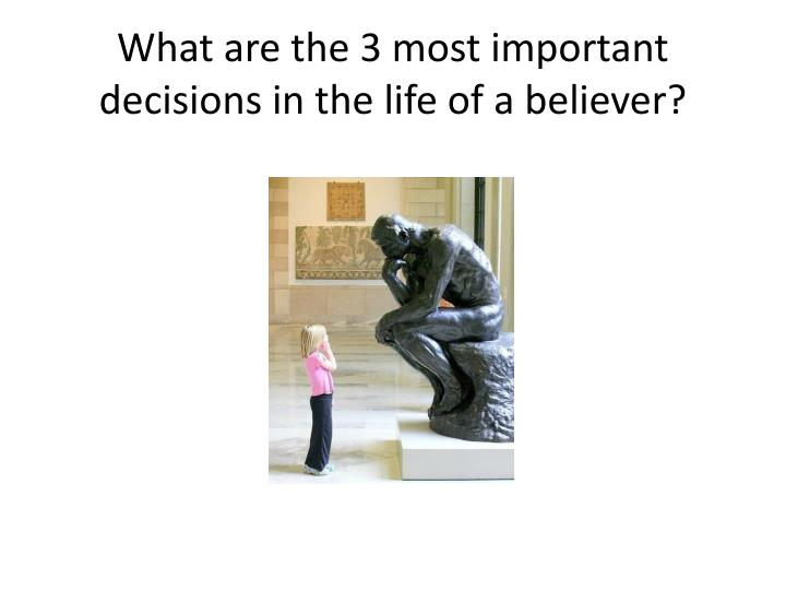 the most important decision in my It was a difficult decision to make in so many ways it was a small decision--involving one of several thousand sundays in my life in theory, surely i could have crossed over the line just that.