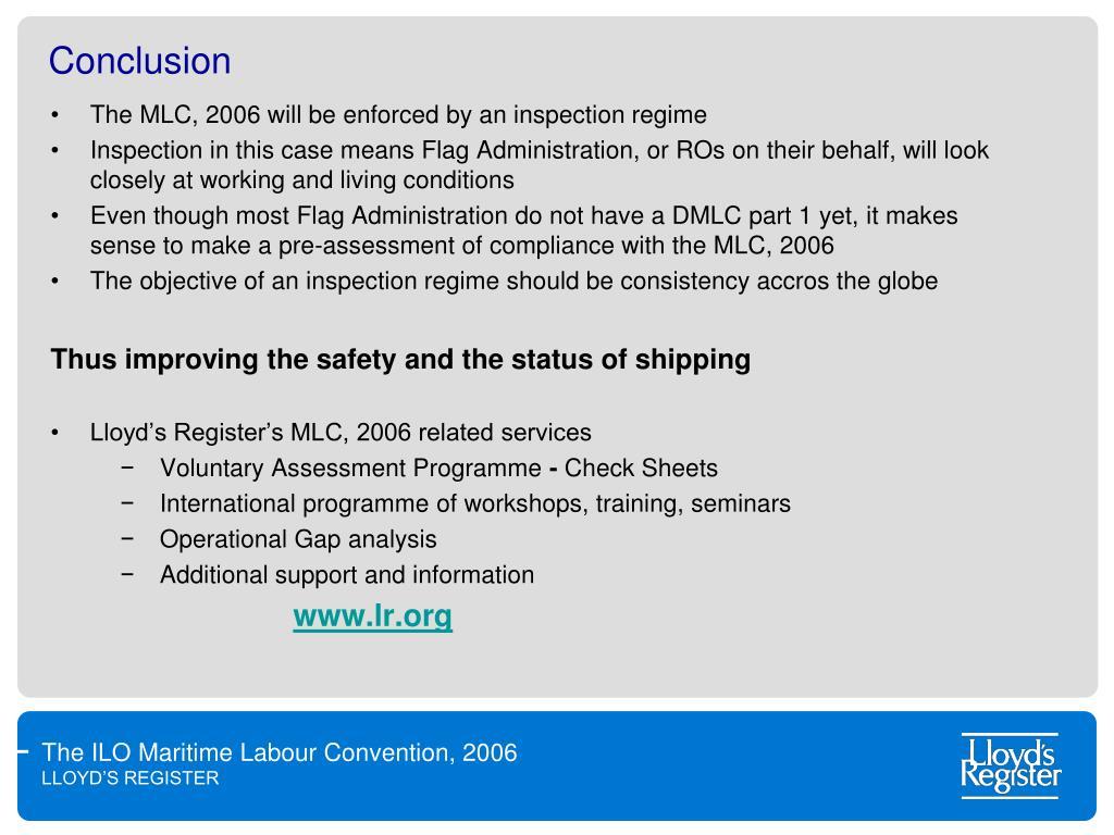 Lloyds register maritime labour convention manual