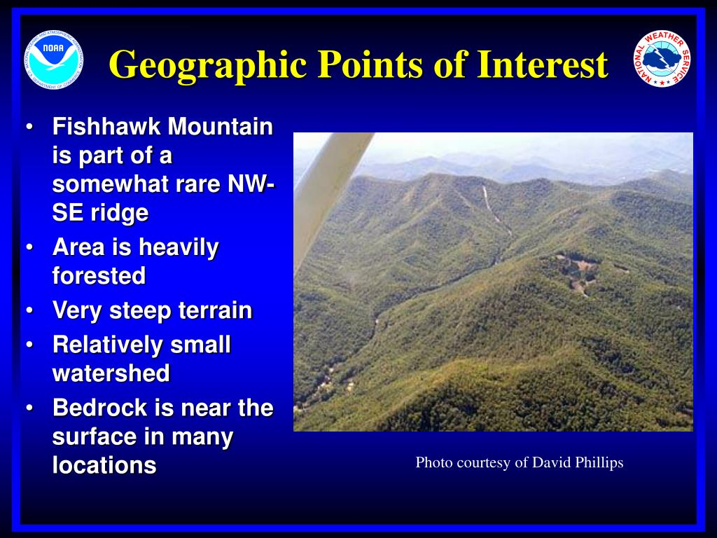 Geographic Points of Interest