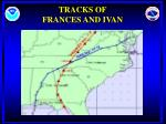 tracks of frances and ivan