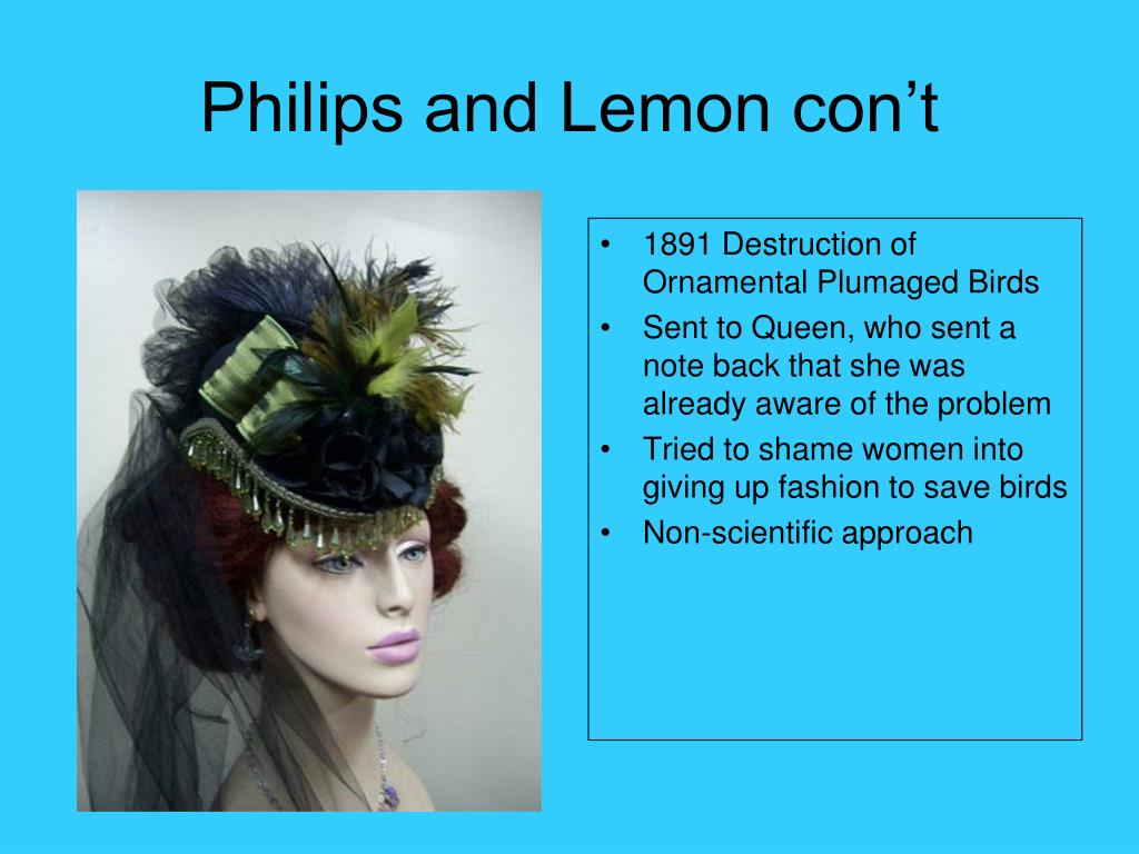 Philips and Lemon con't