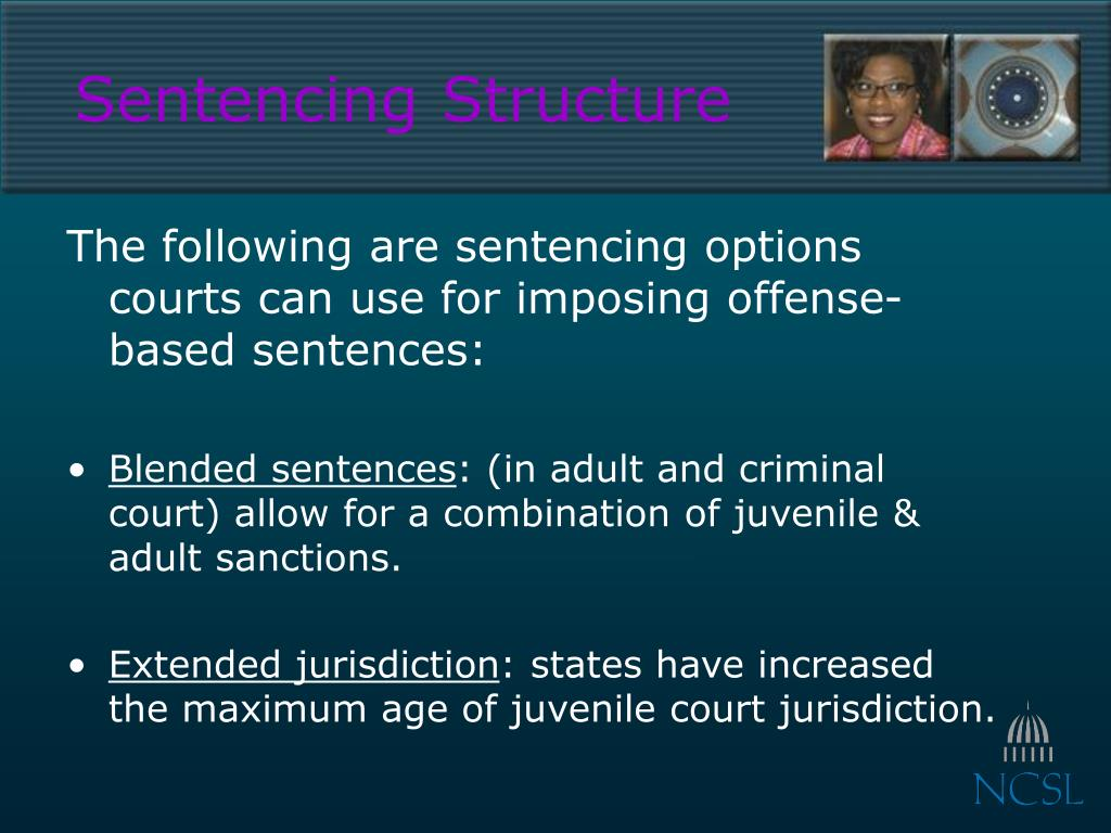 Sentencing Structure