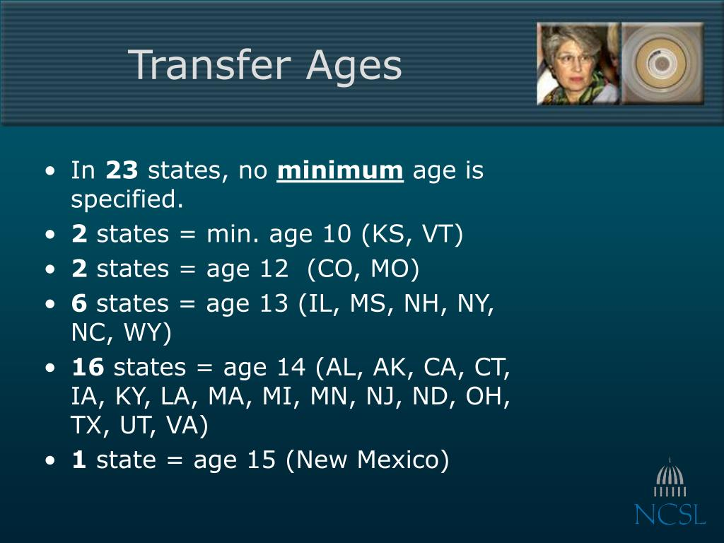 Transfer Ages