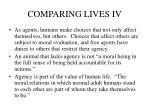 comparing lives iv