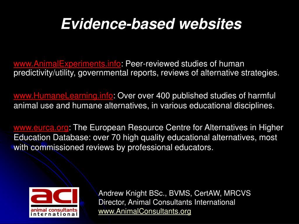 www.AnimalExperiments.info