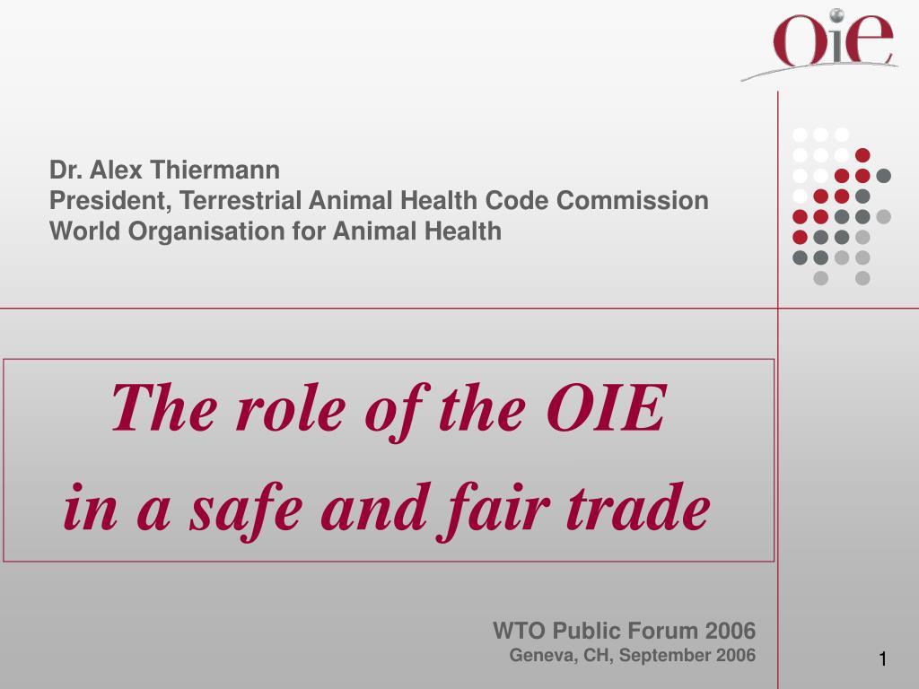 Dr. Alex Thiermann