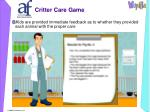 critter care game13
