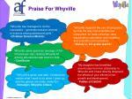 praise for whyville