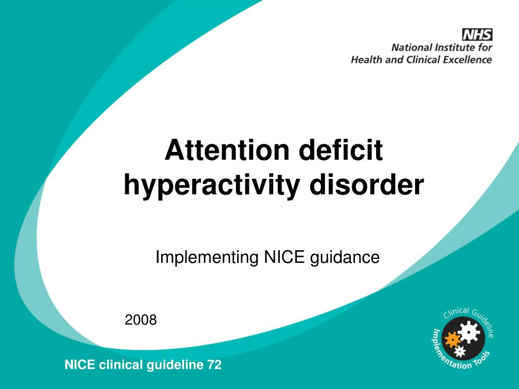an analysis of attention disorder and attention deficit hyperactivity disorder