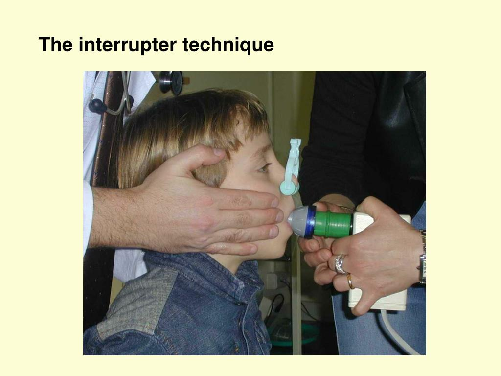 The interrupter technique