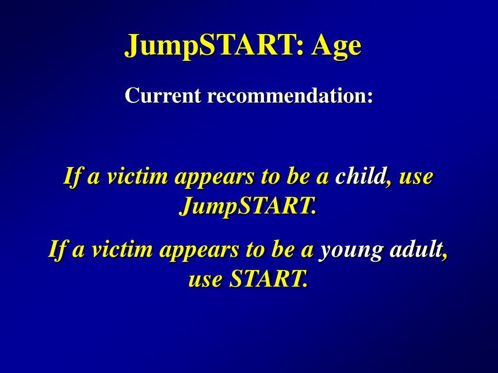 JumpSTART: Age