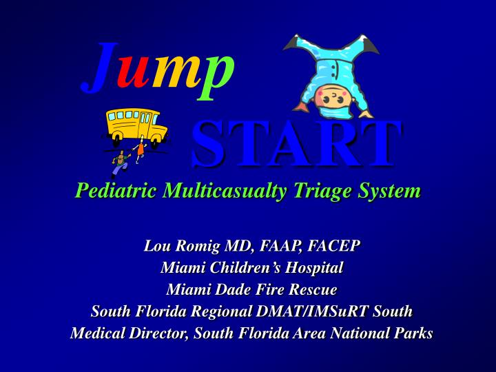 Basic jumpstart lecture with scenario