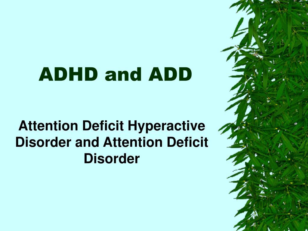 adhd and add l.