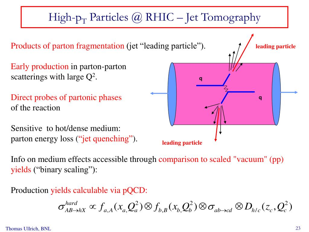 leading particle
