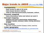 major trends in jagis j ournalism a nd gis