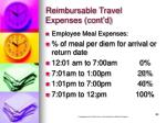 reimbursable travel expenses cont d24
