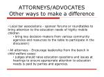 attorneys advocates other ways to make a difference48