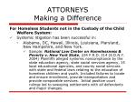 attorneys making a difference