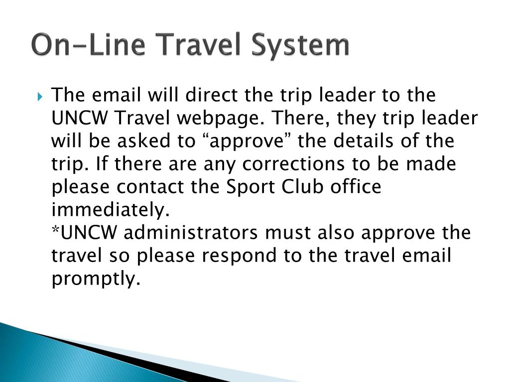 On-Line Travel System