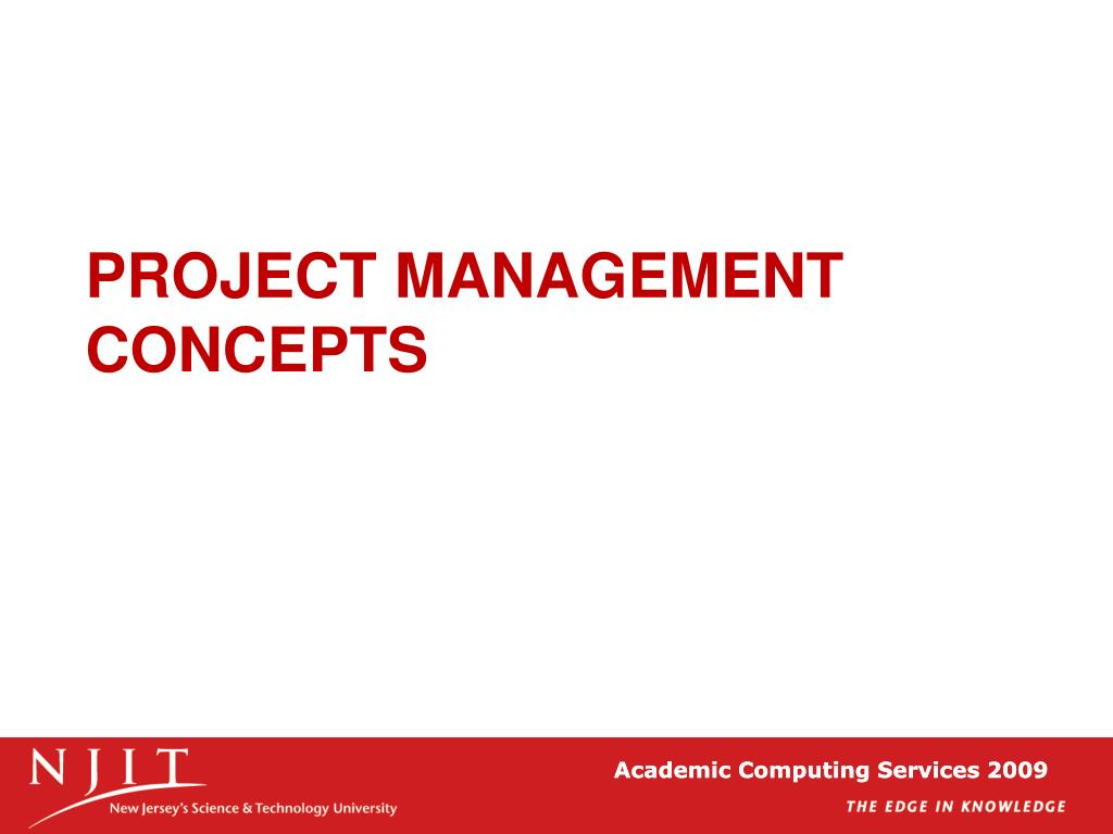 project management concepts l.