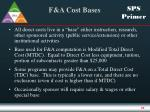 f a cost bases