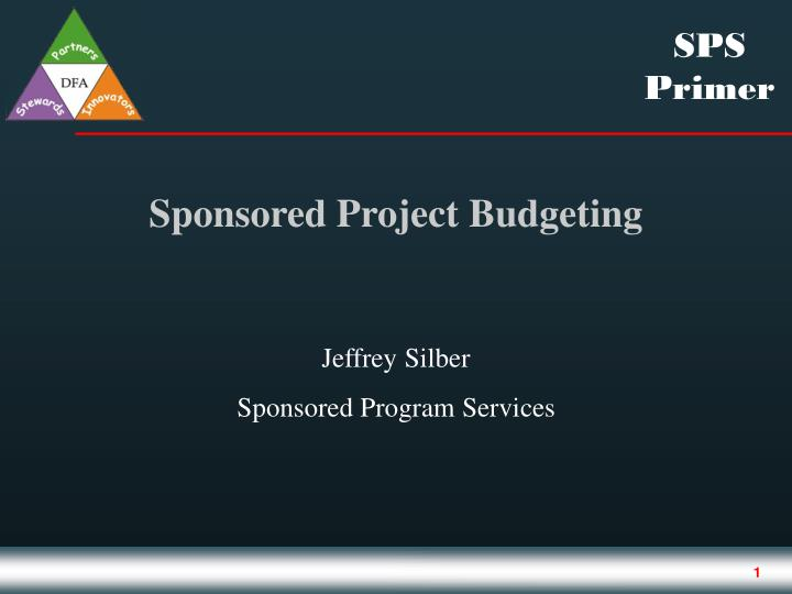 sponsored projects