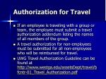 authorization for travel6