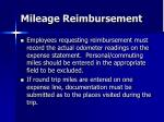 mileage reimbursement31
