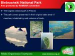 biebrza ski national park area protected by ramsar convention